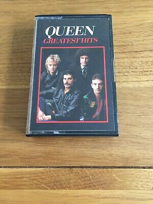 Queen: Greatest Hits cassette tape 1981