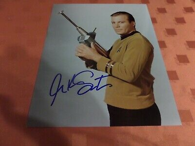 Autographed Photo + Coa - William Shatner