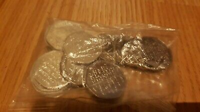 20 Brexit 50p coins from sealed bag.