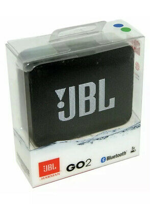 New! JBL Go2 Bluetooth Speaker Portable Rechargeable Wireless - Black