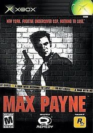 Max Payne - Xbox, Very Good Xbox, Xbox Video Games