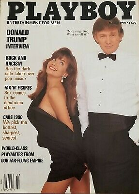 March 1990 Playboy Magazine President Donald Trump  -  Mint Condition Collector
