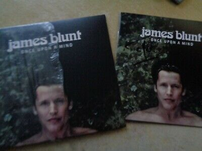 James Blunt Once Upon A Mind  cd album  signed autographed on inlay UNPLAYED