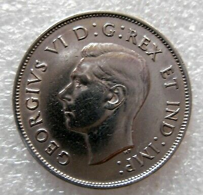 1938 Canadian Fifty Cent Coin Circulated Condition