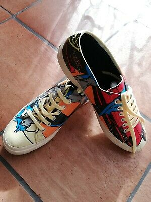 Scarpe sportive Superga originali Batman Warner bros originali n. 43