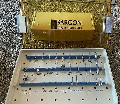 Gold Drills Sargon Dental Implant Drill System - Excellent Condition