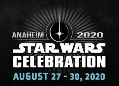 2 Star Wars Celebration Anaheim 2020 Child Thursday Passes Tickets Sold Out 8/27