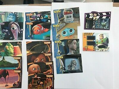 Choose from a Selection Disney Pixar Treasures  Special Insert Trading Cards