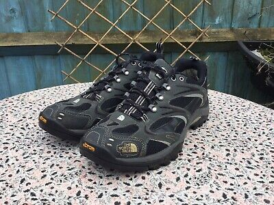 THE NORTH FACE - Grey-Black - Gore-Tex - Lace Up - Walking Shoes - UK10