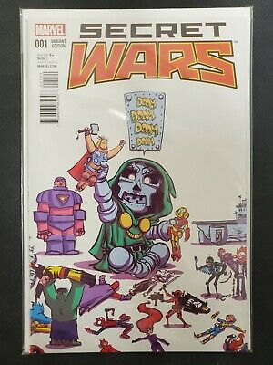 Ultimate End #1 001 Variant Edition Skottie Young Marvel Comics CB3274