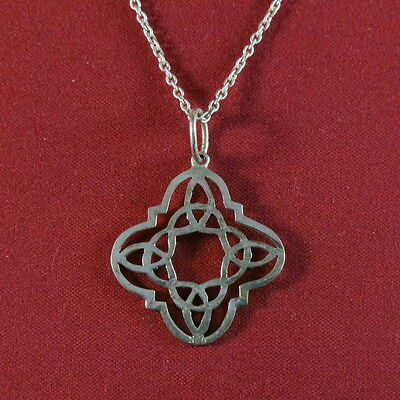 "Pendentif ""Airy"" + Chaine maille ""forçat"" Argent 925"