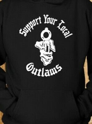 I WILL ASSOCIATE WITH WHOEVER THE F I WANT HOODIE SWEATSHIRT outlaw biker 1/%er
