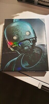 Rogue One A Star Wars Story KimchiDVD Exclusive Blu-ray Steelbook Full Slip...