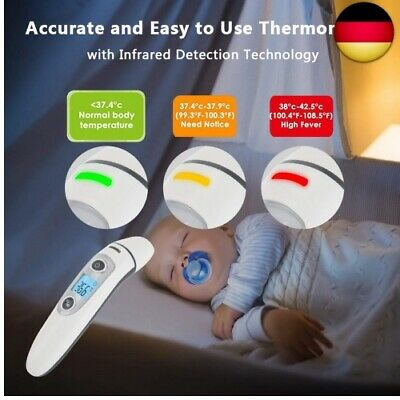 Hkiytime Fieberthermometer Stirnthermometer Ohrthermometer?Digitales Infrarot