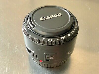 Canon Lens EF 50 mm 1:1.8 II Very Good Condition