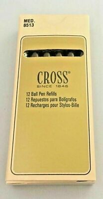 CROSS Ballpoint Pen Refills AUTHENTIC -5 Blue units - #8513 Medium New