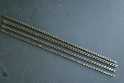 CAST STEEL PINION WIRE - Clock repairs - 4 pieces