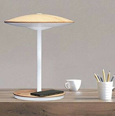 Ultrabrite LED Desk Lamp with Mood and Night Light - Wireless Charging !! -
