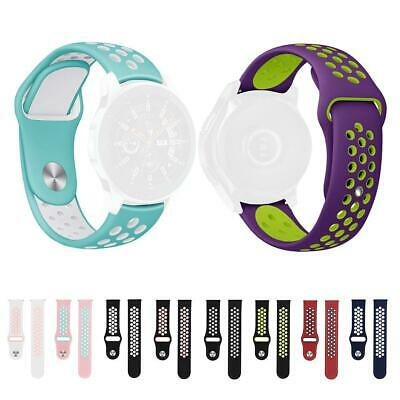 Silicone Porous Watch Band Bracelet Strap for Samsung Galaxy 42mm/Gear S2 HOT
