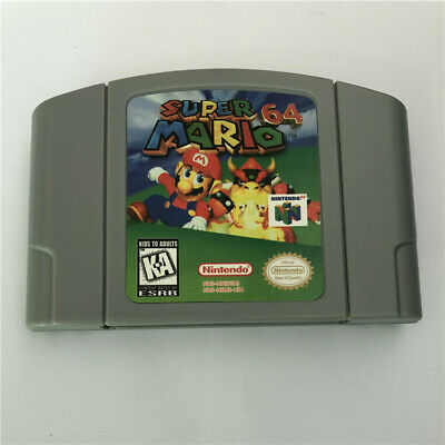 SUPER MARIO Nintendo 64 Game Cartridge For N64 Console US Version