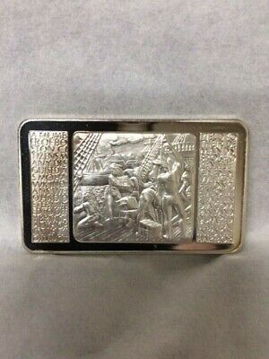 Colossus of Rhodes Mount Everest Mint 1 oz .999 fine silver art bar