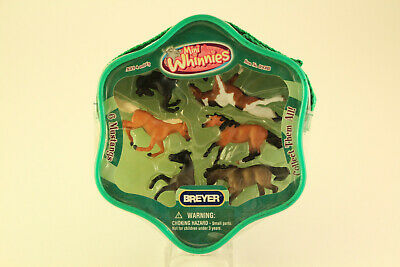 New Breyer Minnie Whinnies #300118 Mustangs 6pc Horse Collectible Toys Set