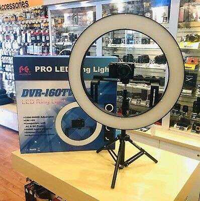 Falconers Pro LED Ringlight Idea for Youtube Videos Display Model As NEW