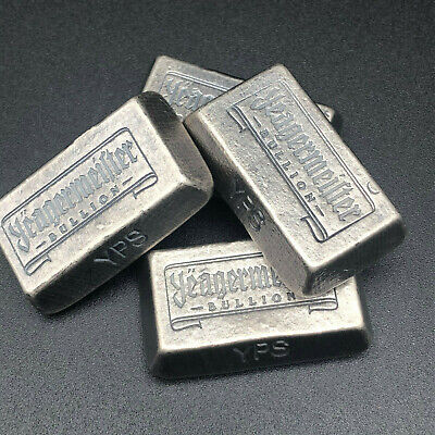 2 Oz Yeagermeister - Trunceted Pyramid - Yps - 999 Fine Silver Bullion Bar #49