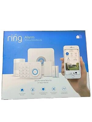 Ring Alarm Wireless Home Security System 5 Piece Kit - Optional 24/7 Monitoring