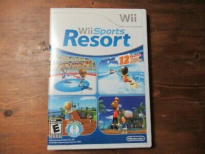 Wii Sports Resort (Wii, 2009) Complete, Tested.