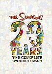 The Simpsons: Season 20 (DVD, 2010, 4-Disc Set)**FREE SHIPPING***