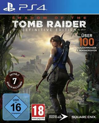 Shadow of the Tomb Raider Definitive Edition PS4 USK: 16
