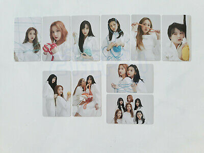 GFriend Labyrinth Twisted Photocard Preorder Benefit