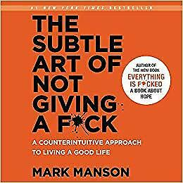 The Subtle Art of Not Giving a F*ck:  Audiobook Audio Book CD Mark Manson