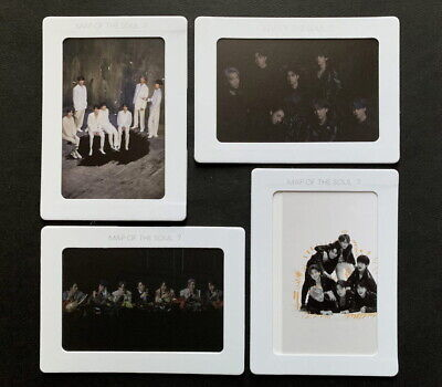 Bts-Map Of The Soul 7 Weply Pre-Order 4 Aurora Photo Frame Set New