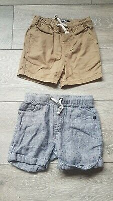 Next Boys Shorts 12-18 Months WORN ONCE