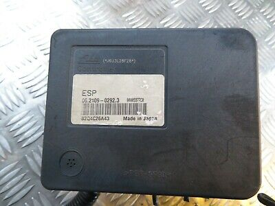 Mitsubishi Grandis Abs Pump 06.2109-0292.3 06.2102-0086.4 Tested 02-2012 100%Ok