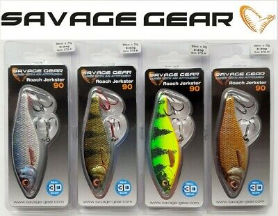 Wobbler offer SAVAGE Gear 3D Roach jerkster 11,5+14,5 cm.6 Colours