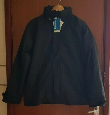 Mountain Warehouse Fell Men's 3 in 1 water Resistant Black Jacket - With Tags
