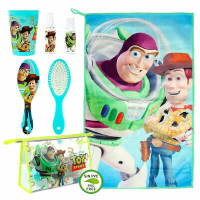 Children's Official Disney Toy Story Toiletry Travel Bag Set