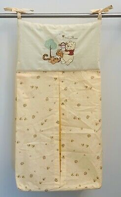 Classic Winnie The Pooh & Tigger Embroidered Diaper Stacker