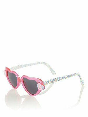 George Girls Childrens Official Peppa Pig Heart Shaped Sunglasses