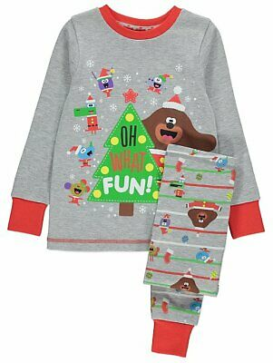 George Boys Girls Official Hey Duggee Christmas Xmas Pyjamas