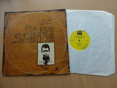 SLIM SMITH - The Late And Great - Vinyl LP - 1979 Canada - REGGAE / ROCKSTEADY