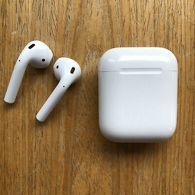 Apple AirPods - Headsets with Charging Case - Genuine