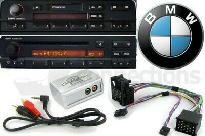 BMW Z8 Mini Cooper Aux-Eingang Ipod IPHONE MP3 Player Adapter Interface Set