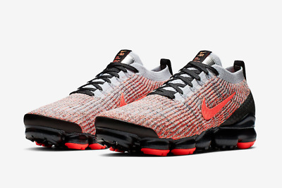 Nike Air Vapormax Flyknit 3 Bright Mango Men's Sneakers New AJ6900 800