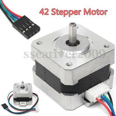 Nema17 Shaft 42 Stepper Motor 500RPM for 5mm RepRap CNC Prusa Rostock 3D Printer