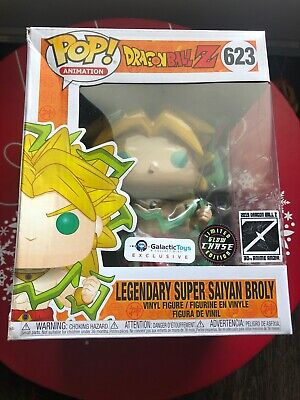 Funko Pop! Dragon Ball Z Super Saiyan Broly 6inch Galactic Toys Exclusive CHASE