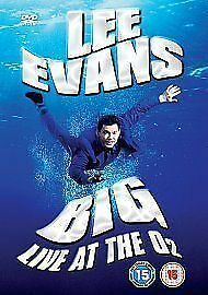 Lee Evans - Big - Live At The O2 (DVD, 2008)